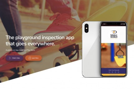 Small World Inspection mobile APP will revolutionise the Playground Inspection Industry